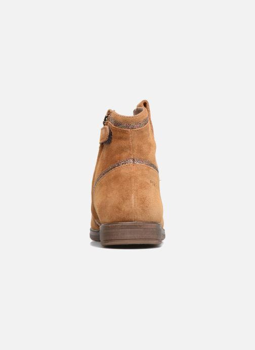 Boots en enkellaarsjes Pom d Api Hobo Glitter Bruin rechts