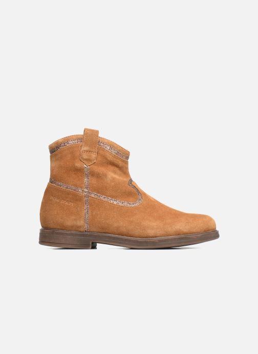 Boots en enkellaarsjes Pom d Api Hobo Glitter Bruin achterkant