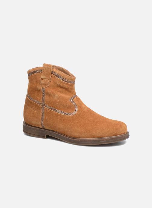 Boots en enkellaarsjes Pom d Api Hobo Glitter Bruin detail