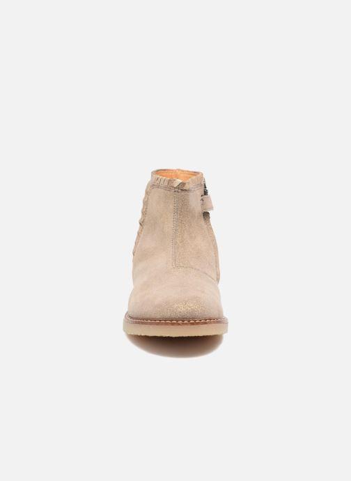 Bottines et boots Pom d Api Patex Braided Beige vue portées chaussures