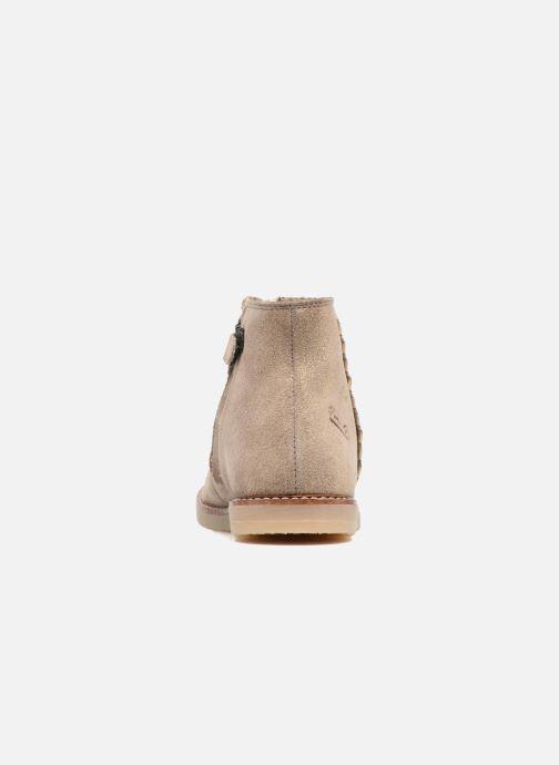 Bottines et boots Pom d Api Patex Braided Beige vue droite