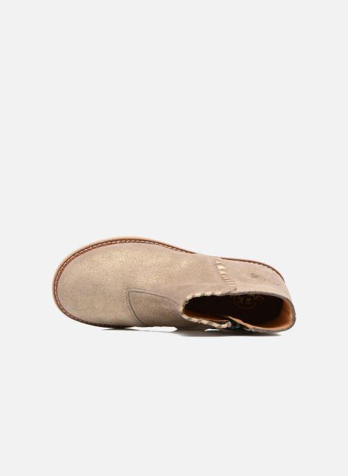 Bottines et boots Pom d Api Patex Braided Beige vue gauche