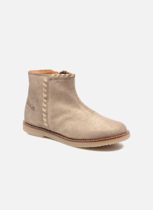 Bottines et boots Pom d Api Patex Braided Beige vue détail/paire