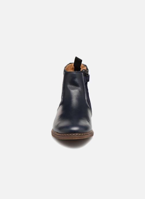 Bottines et boots Pom d Api City Boots Bleu vue portées chaussures