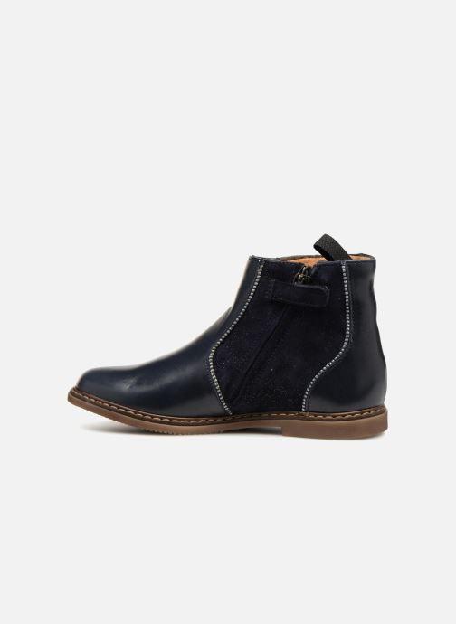 Boots en enkellaarsjes Pom d Api City Boots Blauw voorkant