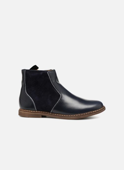 Boots en enkellaarsjes Pom d Api City Boots Blauw achterkant