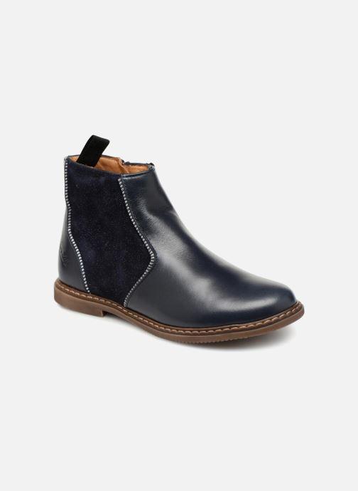 Boots en enkellaarsjes Pom d Api City Boots Blauw detail