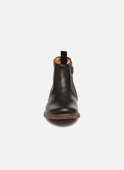Bottines et boots Pom d Api City Boots Noir vue portées chaussures