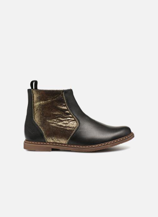 Botines  Pom d Api City Boots Negro vistra trasera