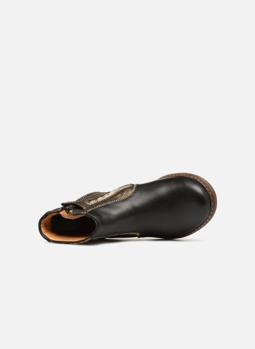 Botines  Pom d Api City Boots Negro vista lateral izquierda