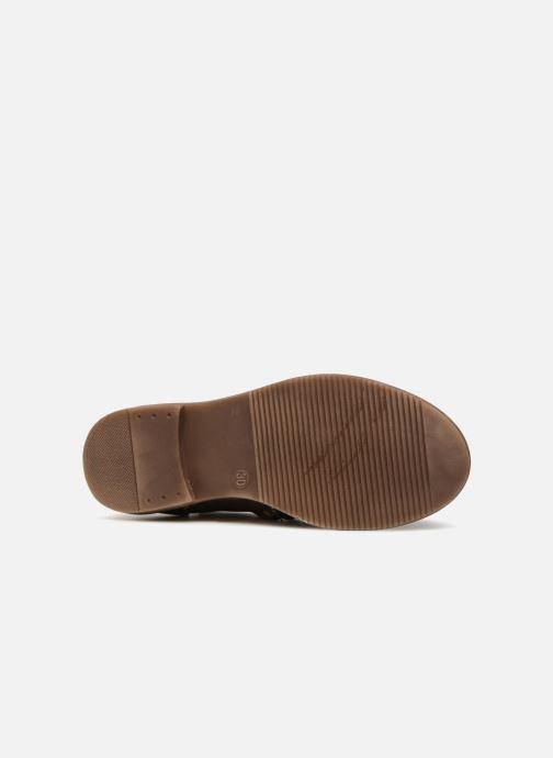 Bottines et boots Pom d Api City Boots Noir vue haut