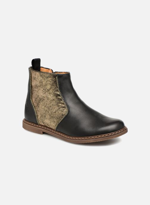 Botines  Pom d Api City Boots Negro vista de detalle / par