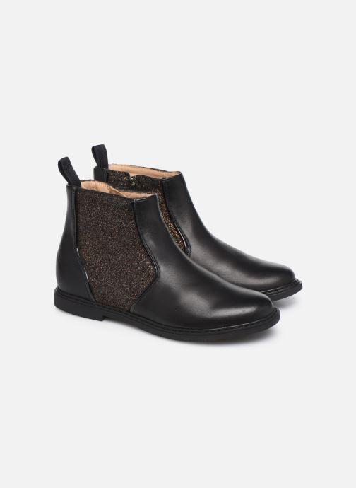 Botines  Pom d Api City Boots Negro vista 3/4