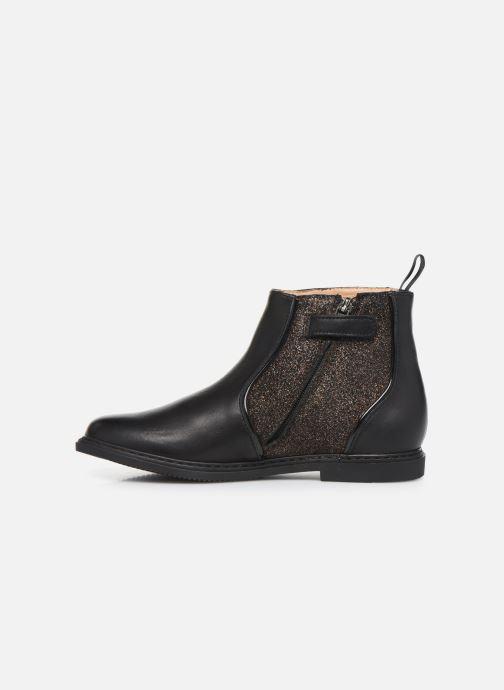 Boots en enkellaarsjes Pom d Api City Boots Zwart voorkant