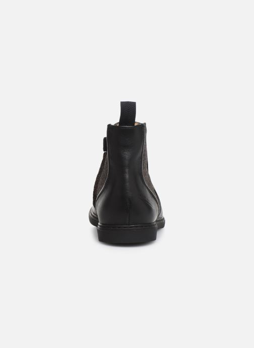 Boots en enkellaarsjes Pom d Api City Boots Zwart rechts