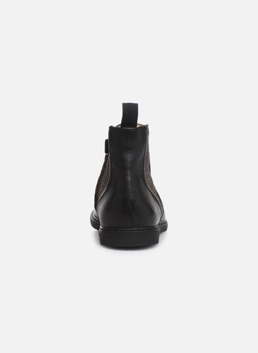 Botines  Pom d Api City Boots Negro vista lateral derecha