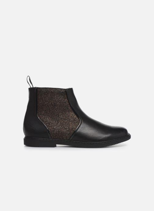 Boots en enkellaarsjes Pom d Api City Boots Zwart achterkant