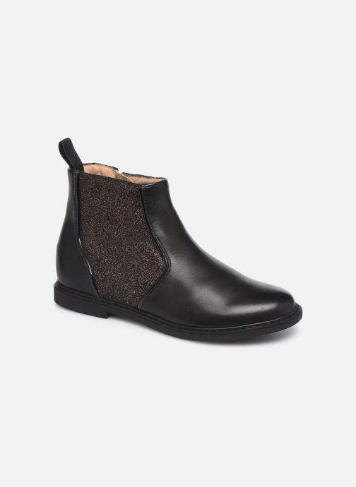 Boots en enkellaarsjes Pom d Api City Boots Zwart detail