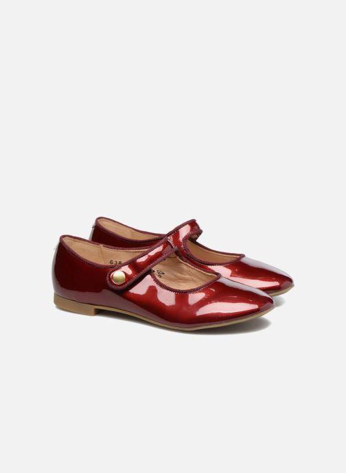 Ballerina's Pom d Api Daisy Baby Bordeaux 3/4'