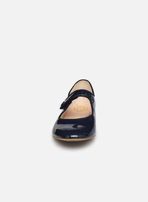 Ballerines Pom d Api Daisy Baby Bleu vue portées chaussures