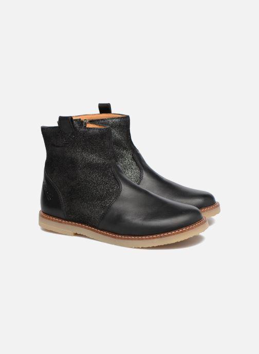 Bottines et boots Pom d Api Patex Boots Noir vue 3/4