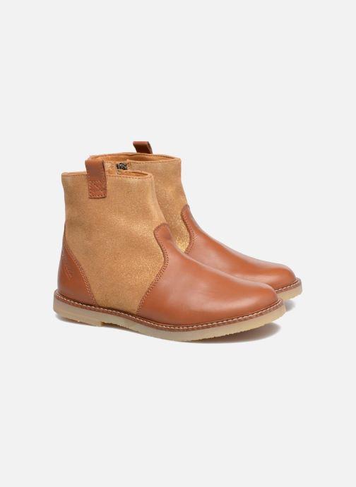Boots en enkellaarsjes Pom d Api Patex Boots Bruin 3/4'