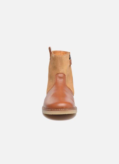 Bottines et boots Pom d Api Patex Boots Marron vue portées chaussures