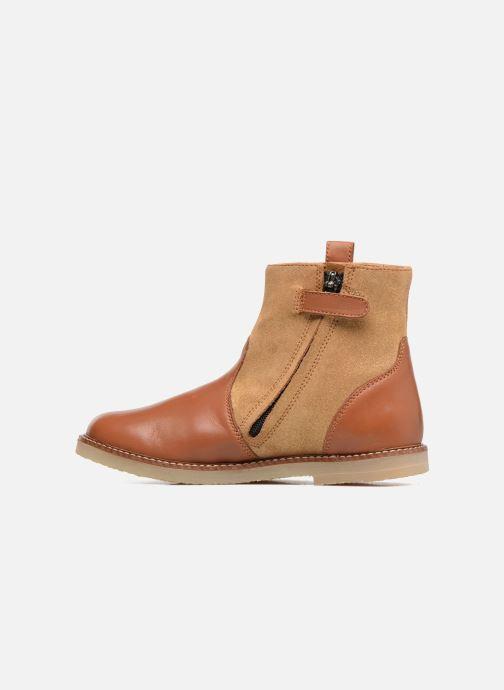 Boots en enkellaarsjes Pom d Api Patex Boots Bruin voorkant