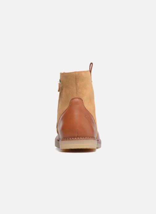 Boots en enkellaarsjes Pom d Api Patex Boots Bruin rechts