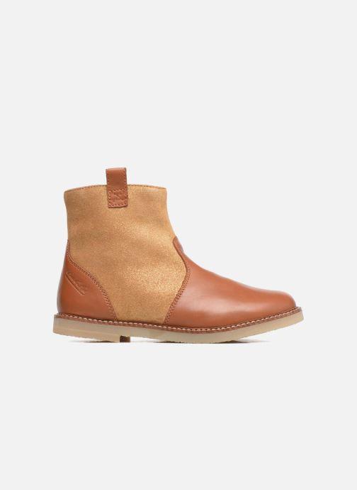 Boots en enkellaarsjes Pom d Api Patex Boots Bruin achterkant