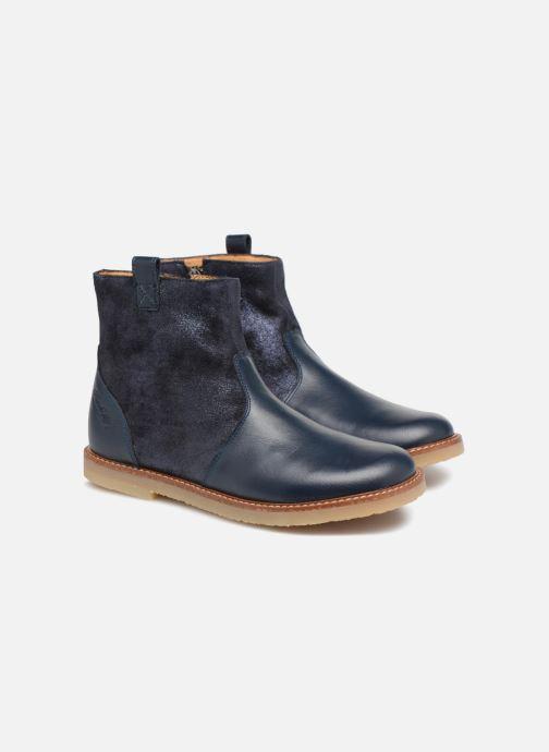Bottines et boots Pom d Api Patex Boots Bleu vue 3/4