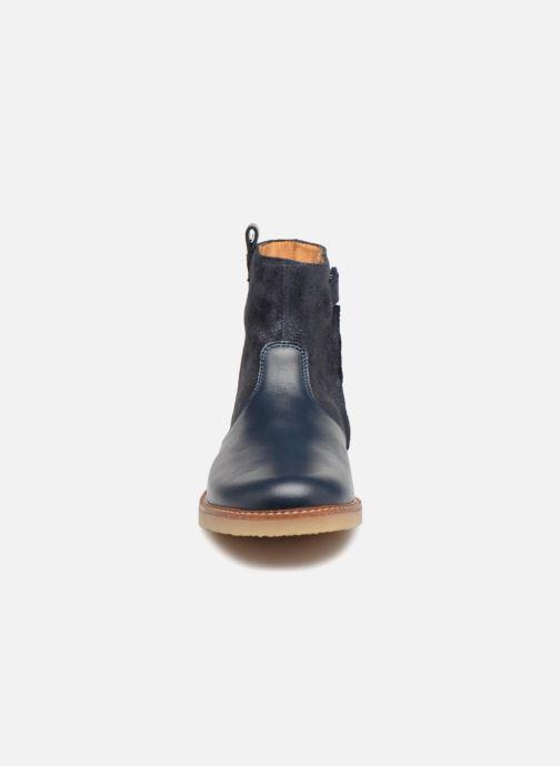 Bottines et boots Pom d Api Patex Boots Bleu vue portées chaussures