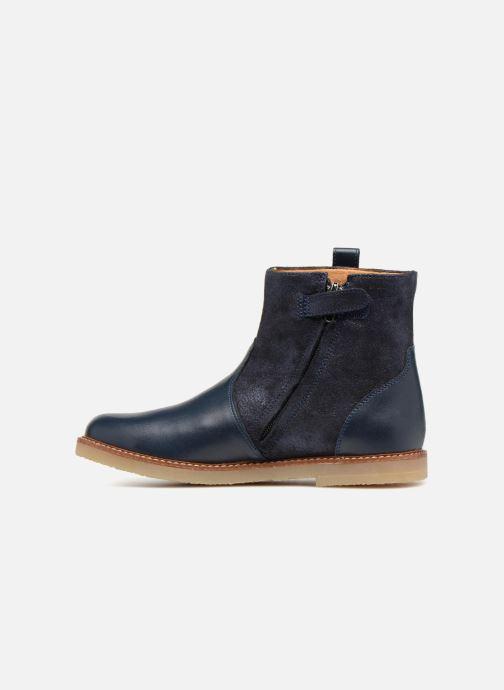 Bottines et boots Pom d Api Patex Boots Bleu vue face