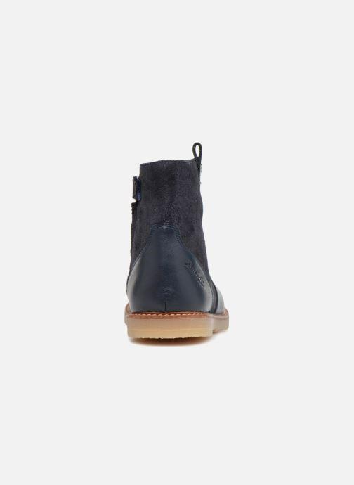 Bottines et boots Pom d Api Patex Boots Bleu vue droite