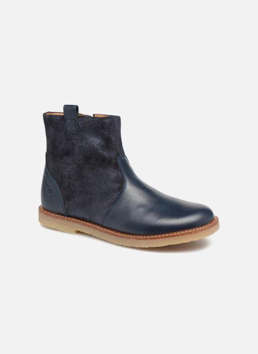 Bottines et boots Pom d Api Patex Boots Bleu vue détail/paire