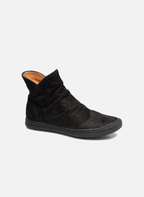 bd5393fb4dd6e Pom d Api New School Pleats (Noir) - Bottines et boots chez Sarenza ...