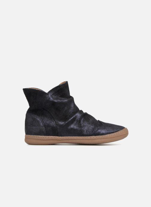 Boots en enkellaarsjes Pom d Api New School Pleats Blauw achterkant