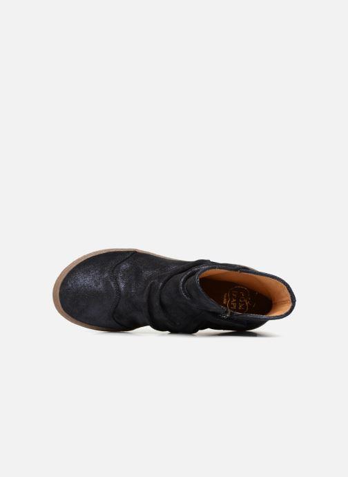 Bottines et boots Pom d Api New School Pleats Bleu vue gauche