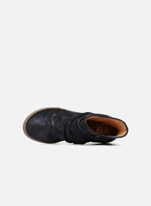 Boots en enkellaarsjes Pom d Api New School Pleats Blauw links