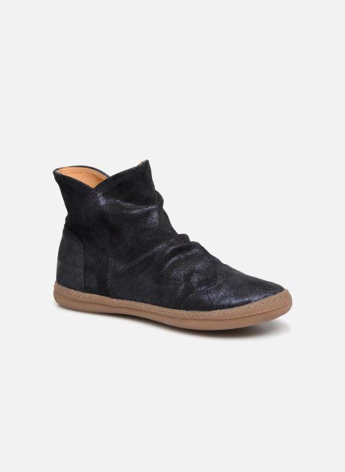 Bottines et boots Pom d Api New School Pleats Bleu vue détail/paire