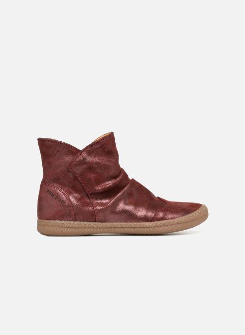 Bottines et boots Pom d Api New School Pleats Bordeaux vue derrière