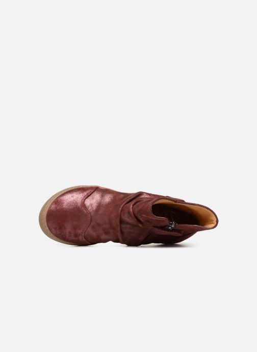 Bottines et boots Pom d Api New School Pleats Bordeaux vue gauche