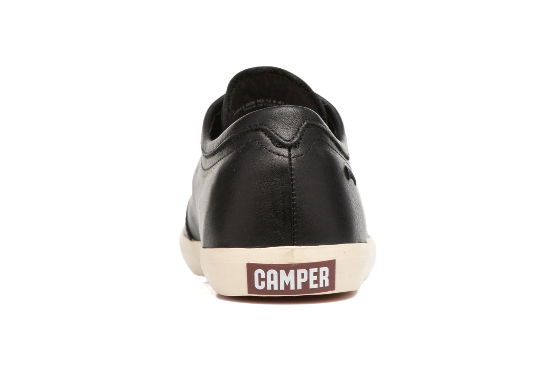Sneakers Camper Motel 18911 Zwart rechts