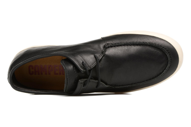 Sneakers Camper Motel 18911 Zwart links