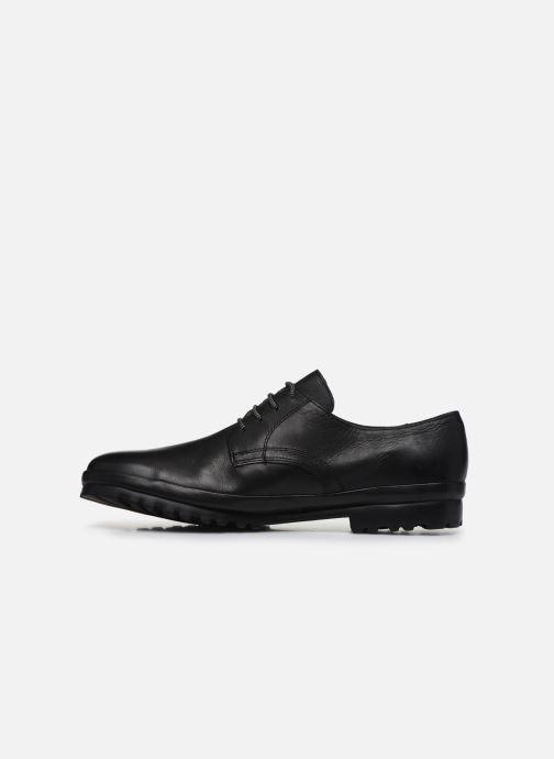 Zapatos con cordones Camper Pegaso 18959 Negro vista de frente