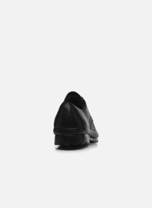 Zapatos con cordones Camper Pegaso 18959 Negro vista lateral derecha