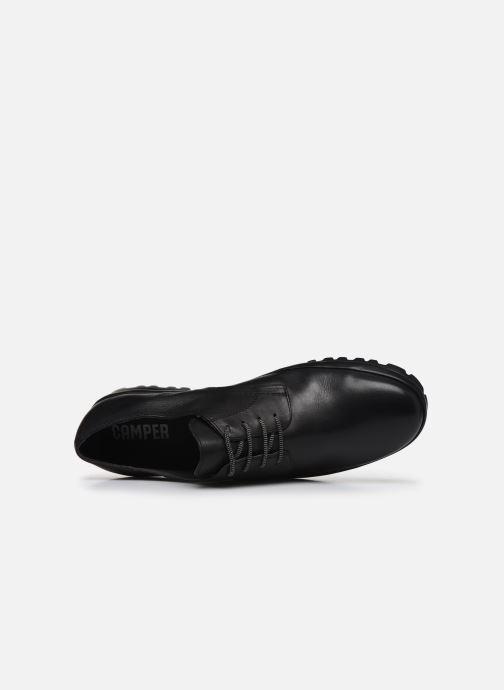 Scarpe con lacci Camper Pegaso 18959 Nero immagine sinistra