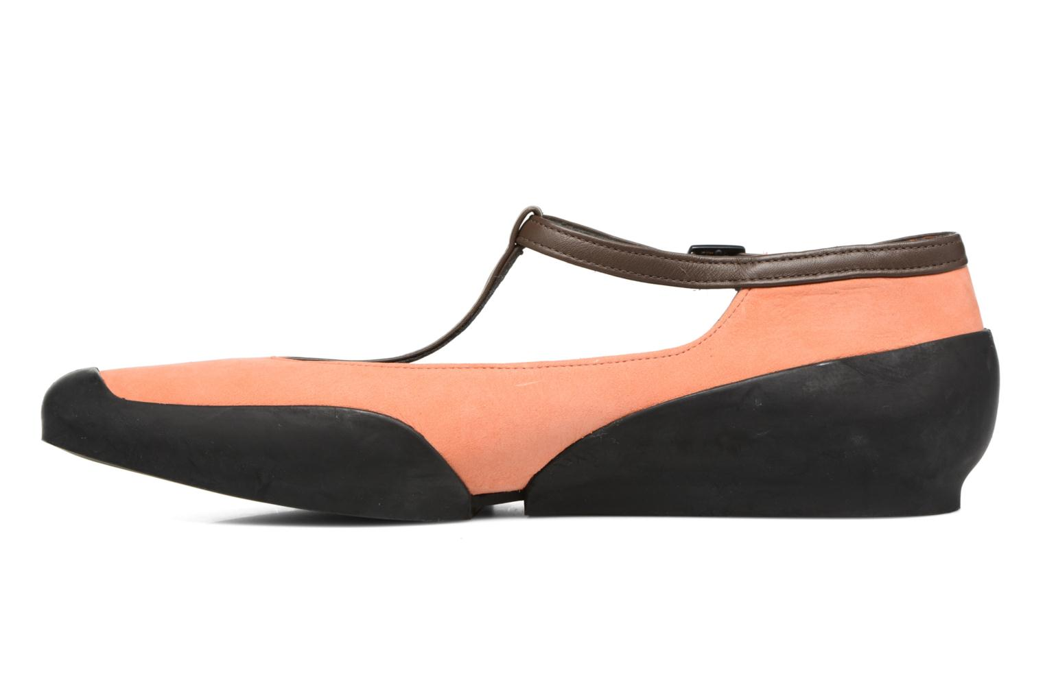 Ballerines Camper Capara 21857 Orange vue face