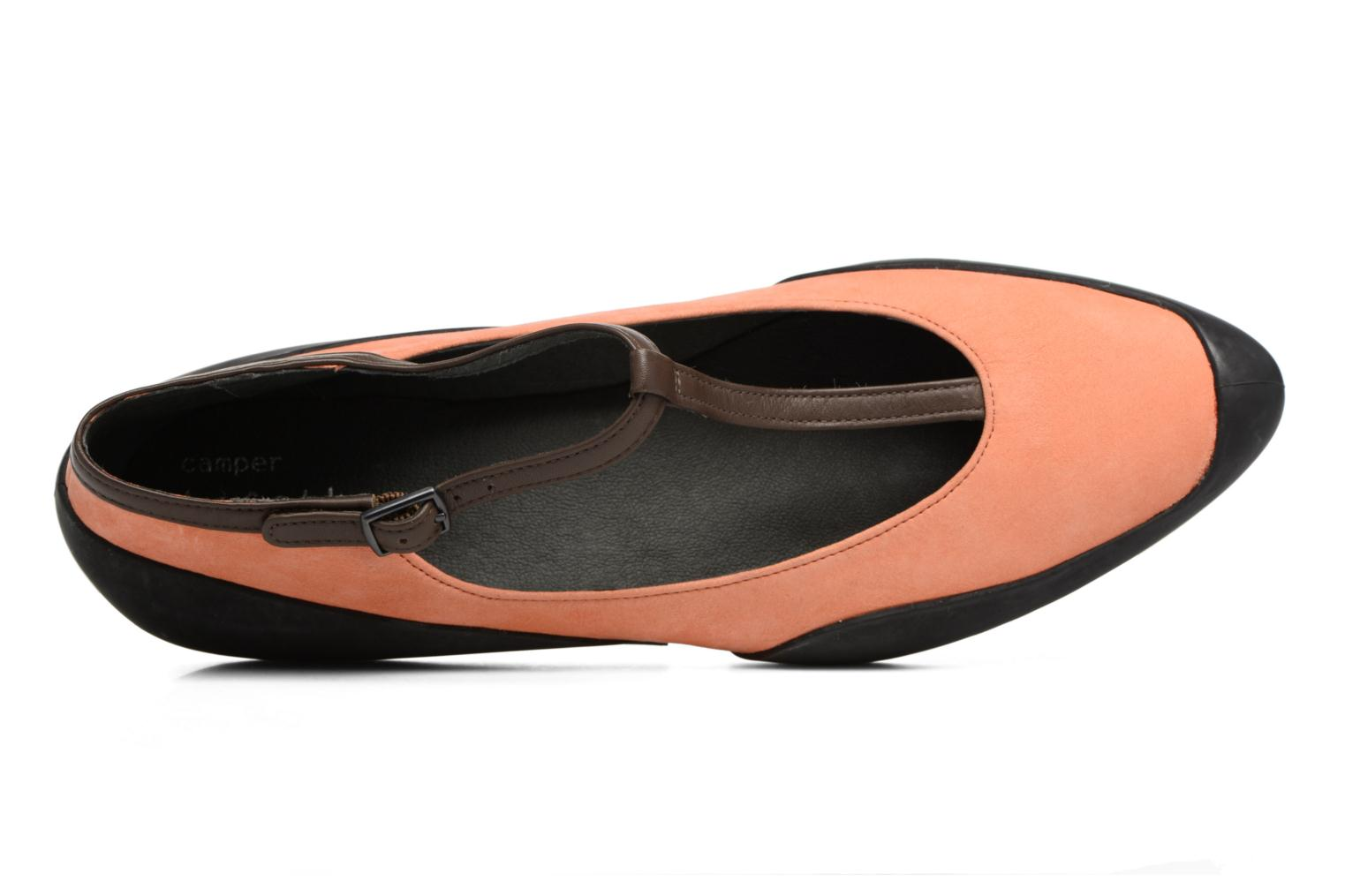 Ballerines Camper Capara 21857 Orange vue gauche