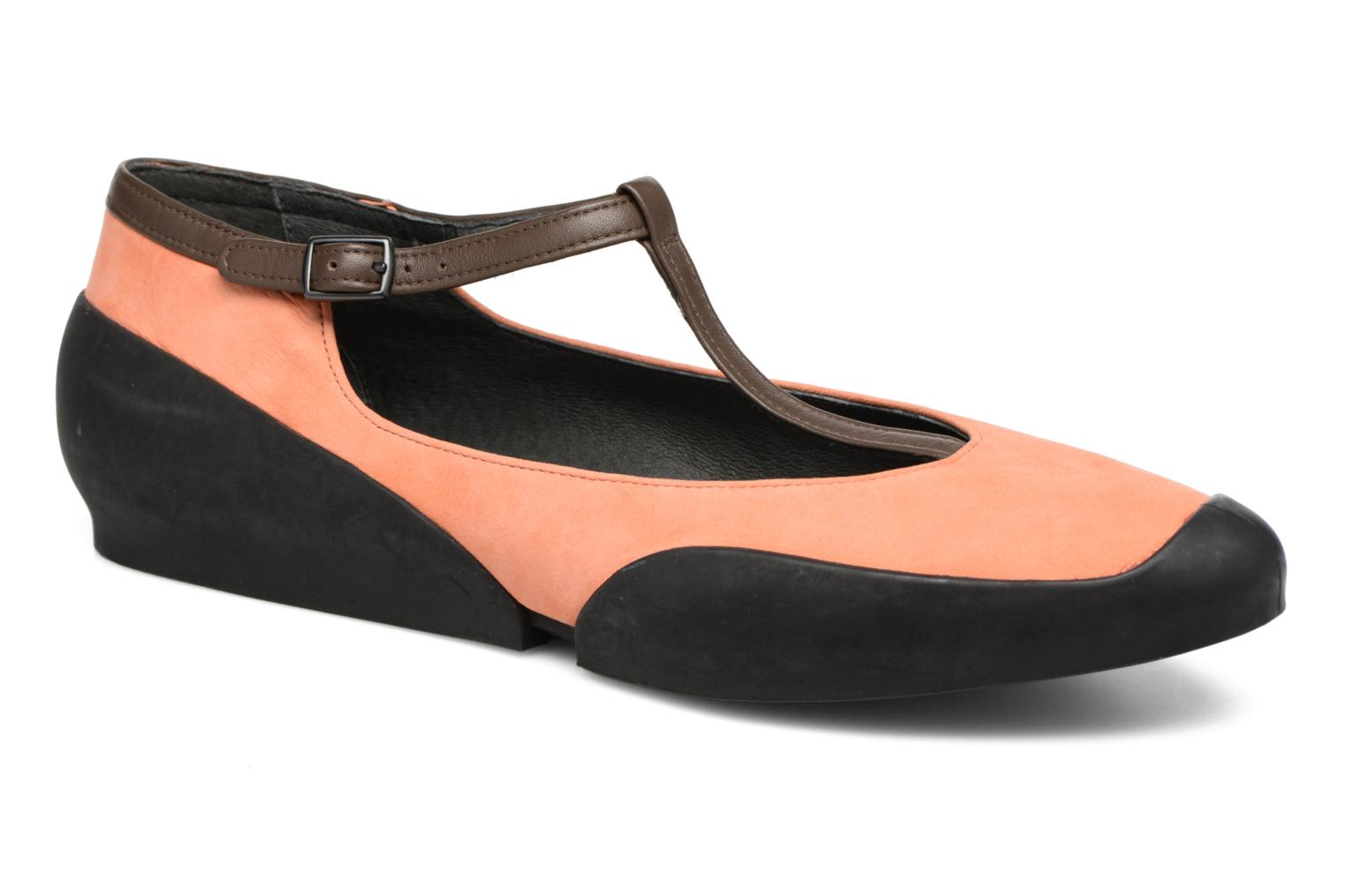 Ballerines Camper Capara 21857 Orange vue détail/paire